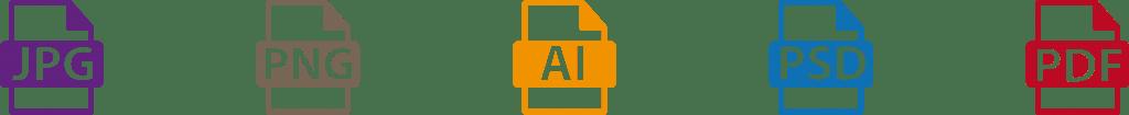Personnalisation - Types de fichiers - Atelier du Quai
