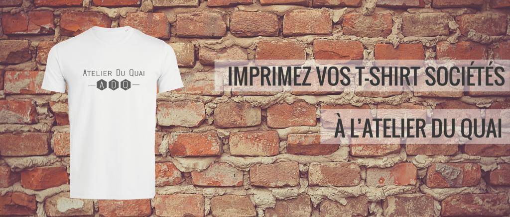 T-shirt société - Atelier du Quai