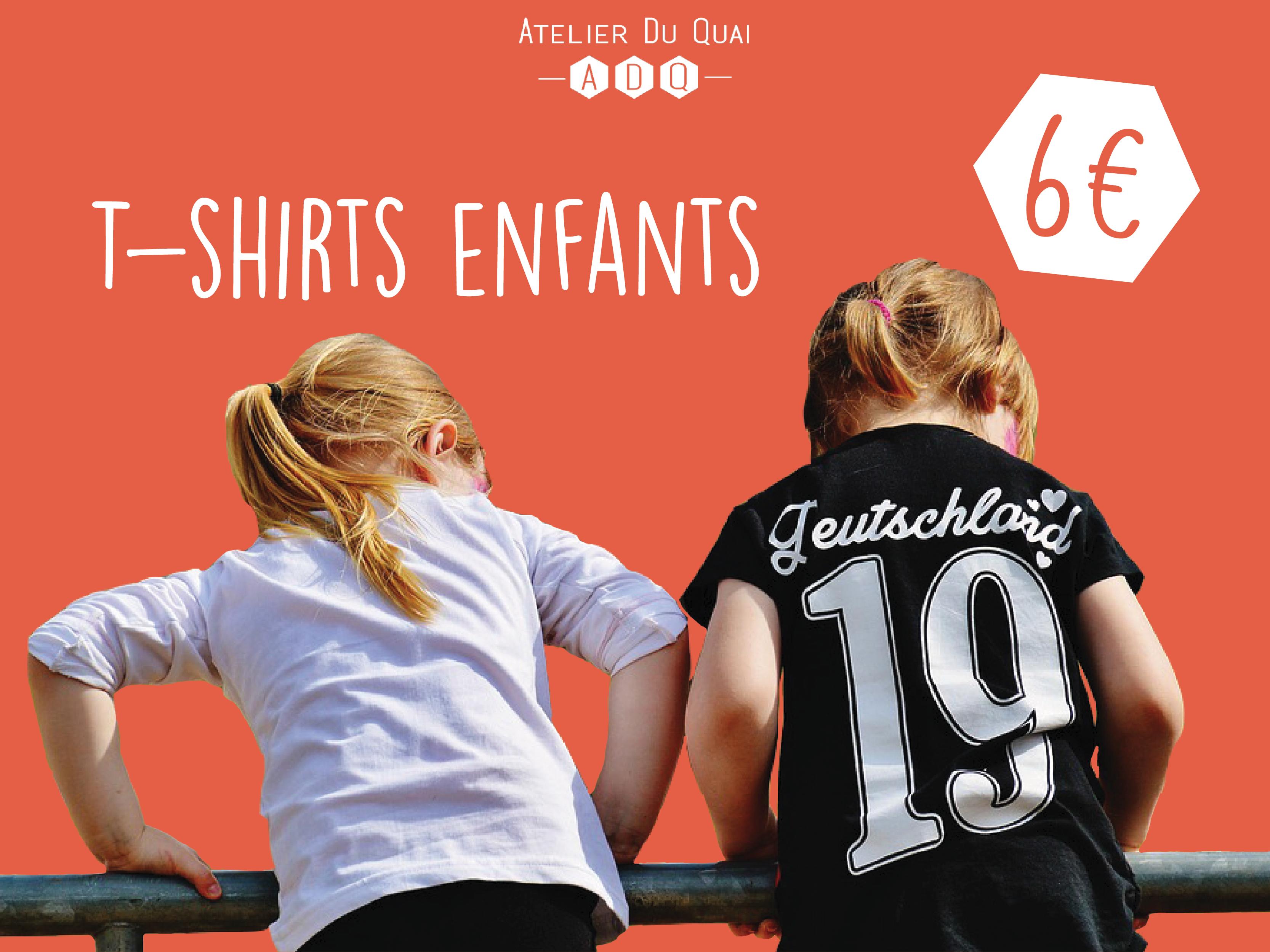 T-shirts enfants - Atelier du Quai