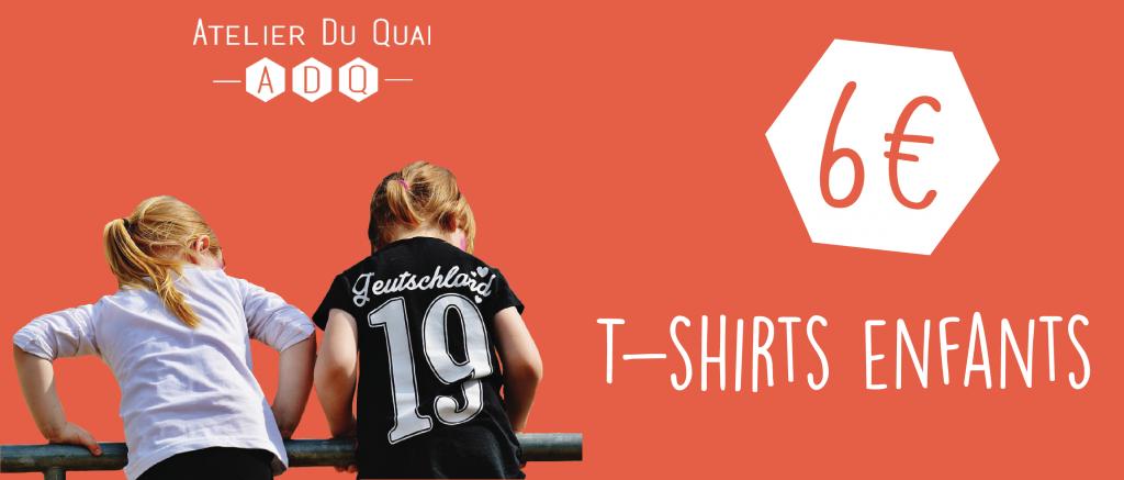 Une - T-shirts enfants - Atelier du Quai