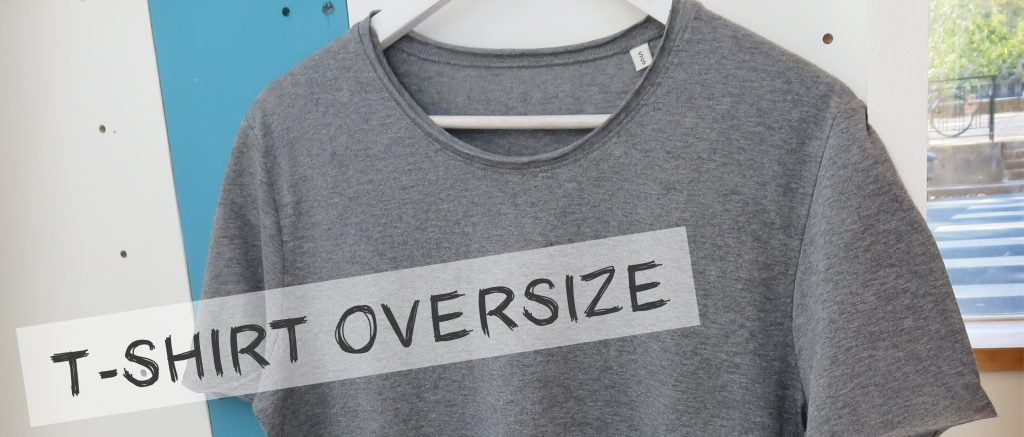 T-shirt oversize - Atelier du Quai