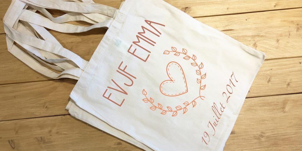 Tote Bag EVJF - Atelier du Quai