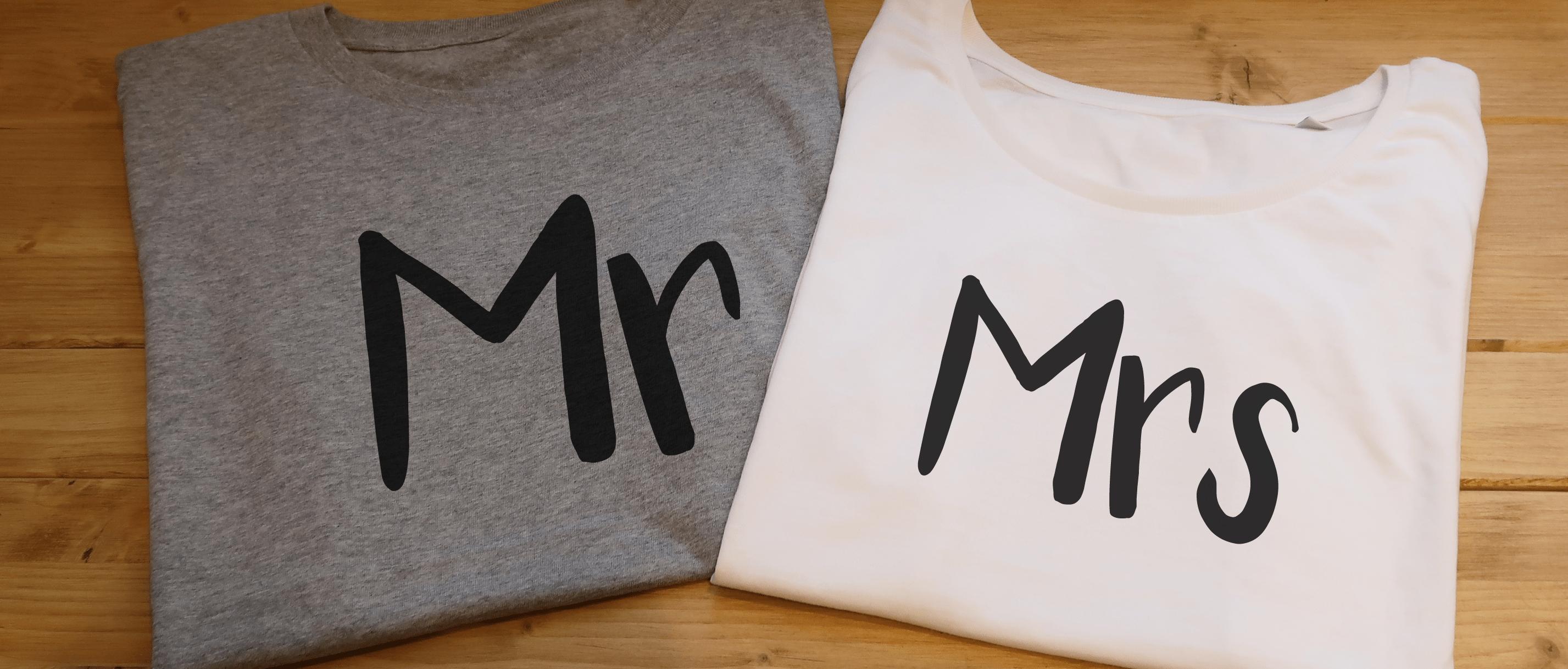T-shirt personnalisé St Valentin - Atelier du Quai