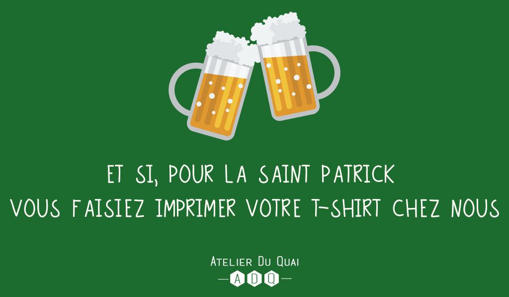 T-shirt Saint Patrick - Atelier du Quai