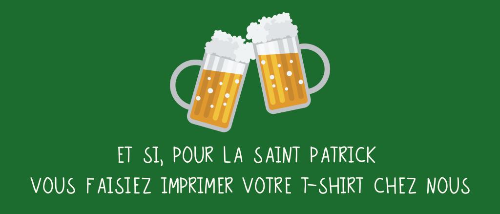 T-shirt St Patrick - Atelier du Quai