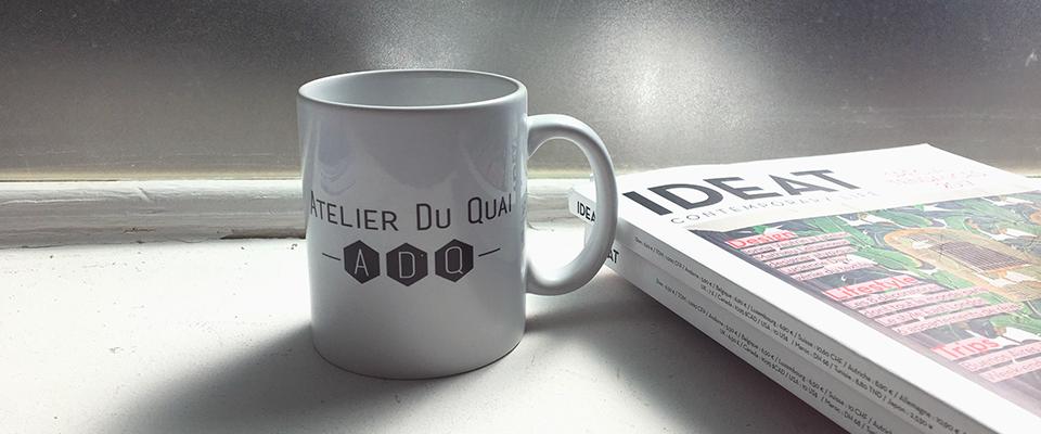 Mugs personnalisés - Atelier du Quai