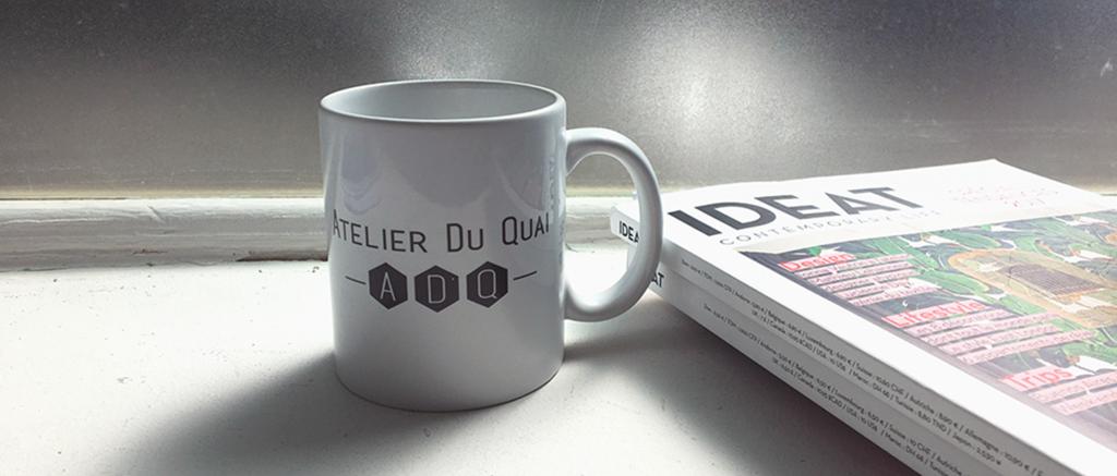 mugs personnalisés - image à la une - Atelier du Quai