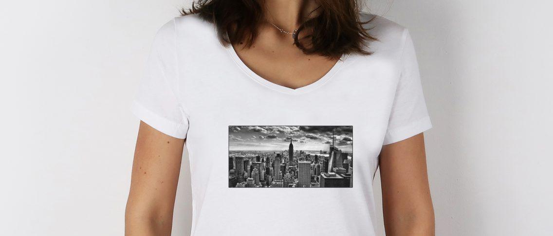T-shirt personnalisé photo - Atelier du Quai