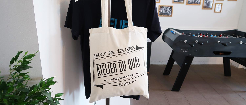 Cadeau de Noël personnalisé pour 20€ - Les sacs et accessoires - Atelier du Quai
