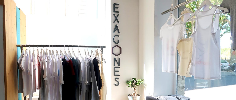 T-shirt original - La marque Exagones - Atelier du Quai