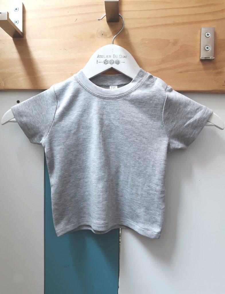 Textile bébé personnalisé - T-shirt bébé - Atelier du Quai