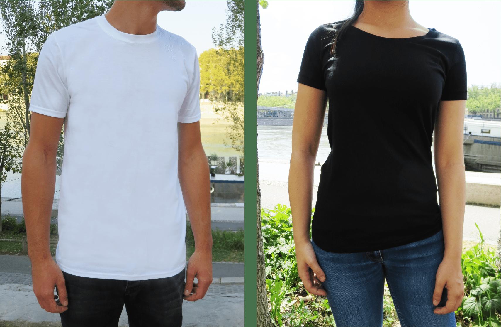T-shirt Noël personnalisé - T-shirt premium personnalisé - Atelier du Quai