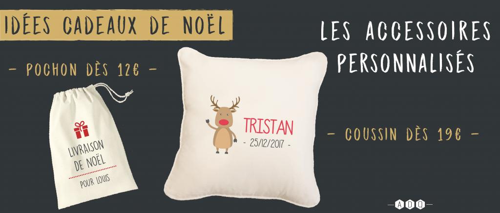 Accessoires personnalisés Noël - Atelier du Quai