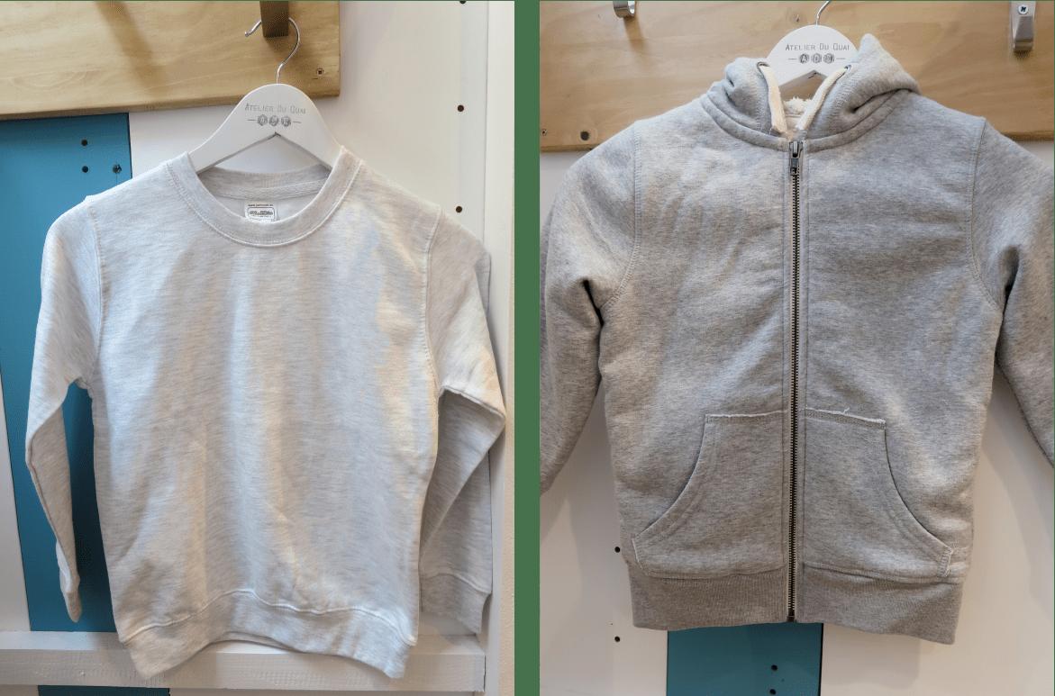 Sweat personnalisé Noël - Sweats enfants - Atelier du Quai