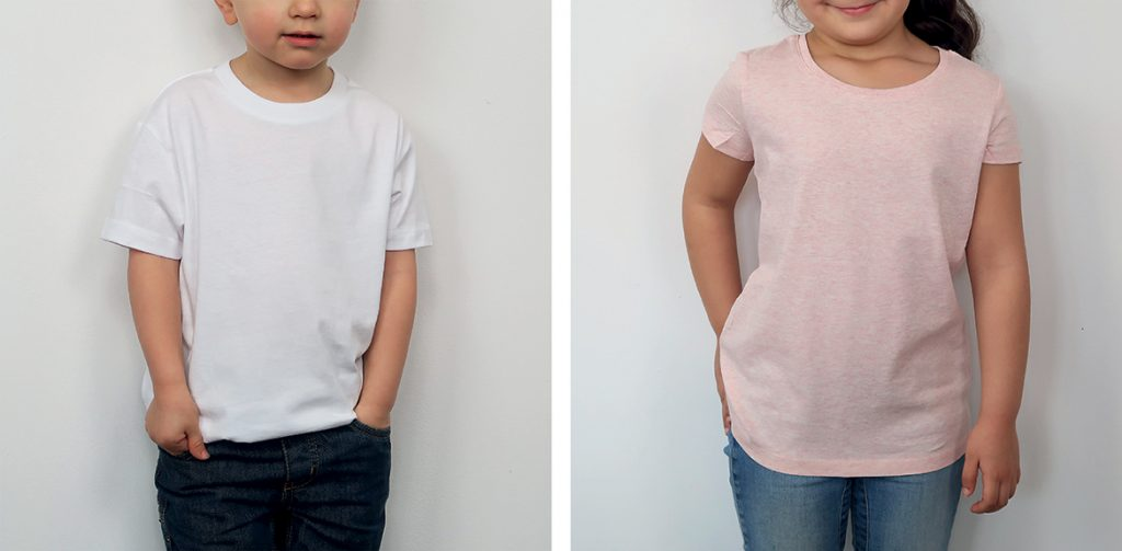 T-shirt enfant personnalisé - T-shirts premiums enfants - Atelier du Quai