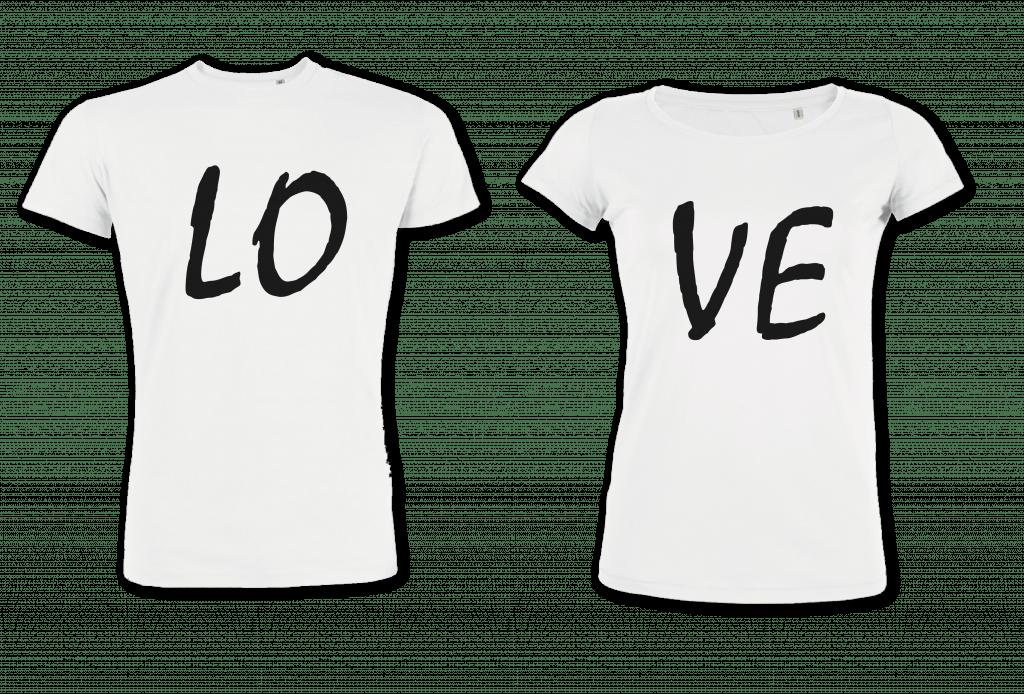 Cadeau personnalisé st valentin - T-shirt - Atelier du Quai