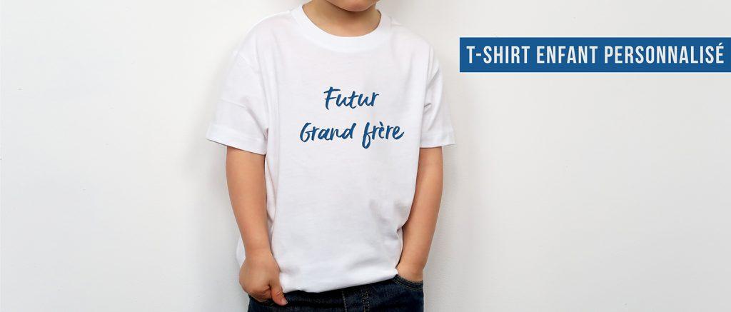 T-shirt enfant personnalisé - Atelier du Quai