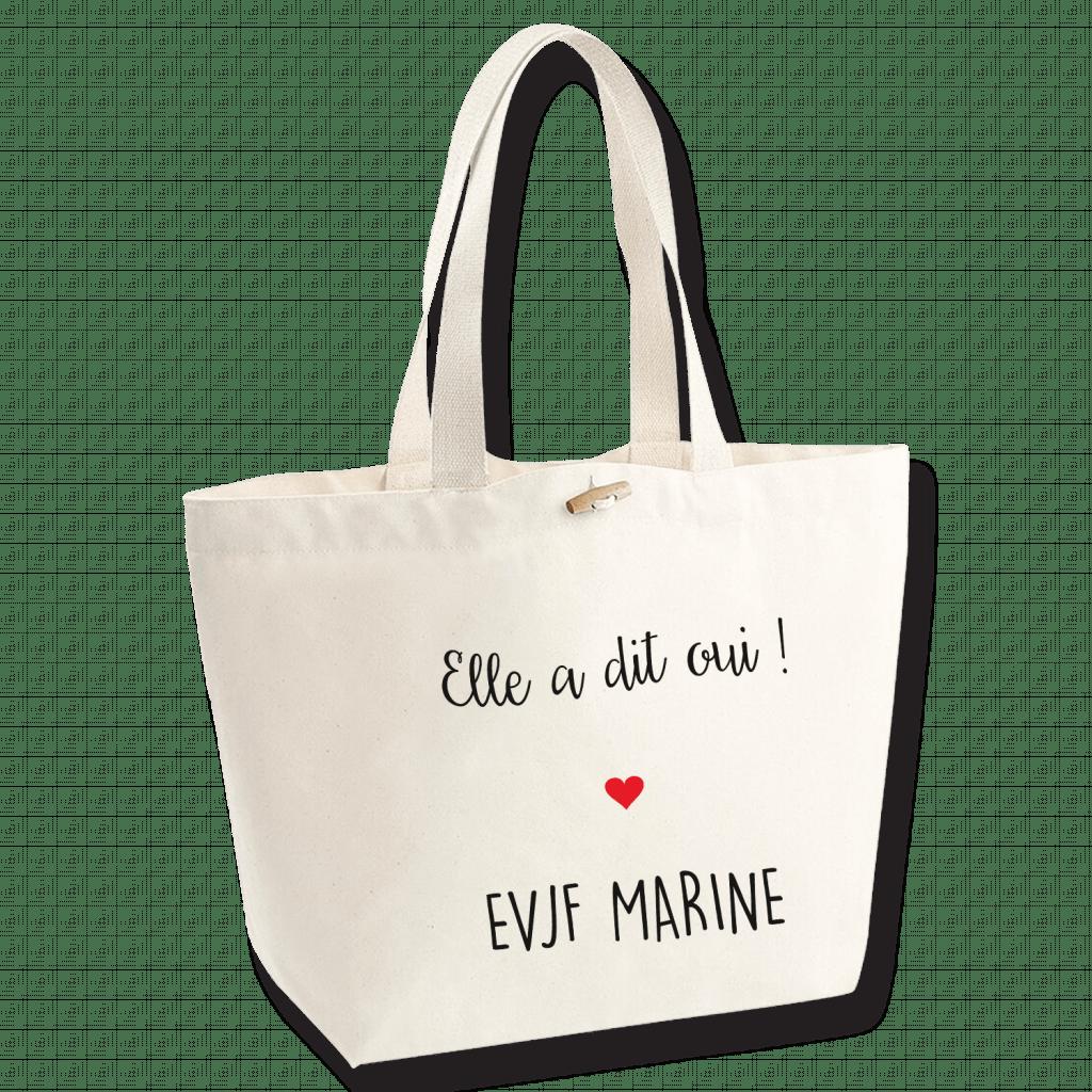 Sac personnalisé EVJF - Sac marina - Atelier du Quai