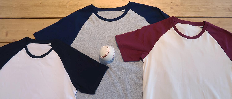 T-shirt baseball personnalisé - Atelier du Quai
