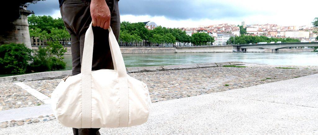 sac polochon personnalisé - Atelier du Quai