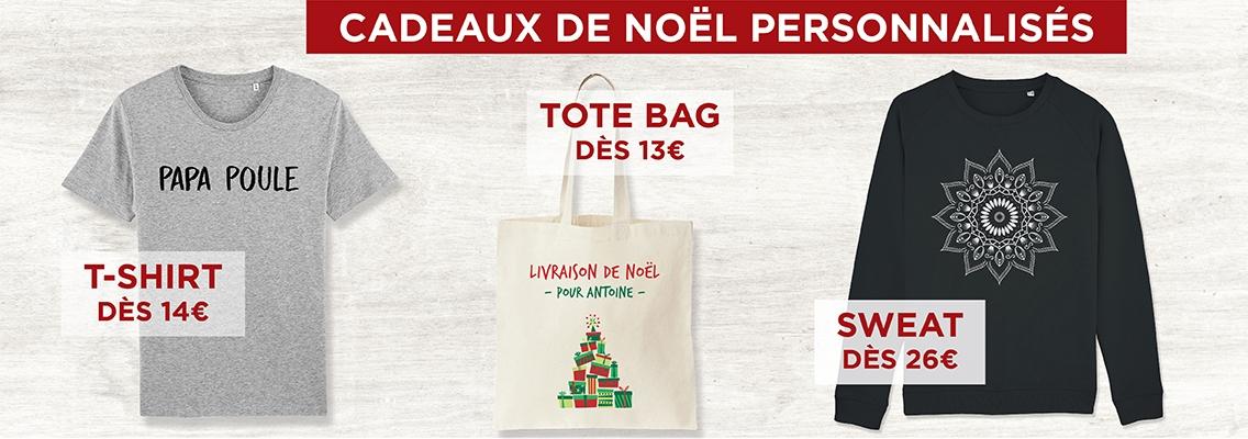 Idées Cadeaux de Noël Personnalisés - Atelier du Quai