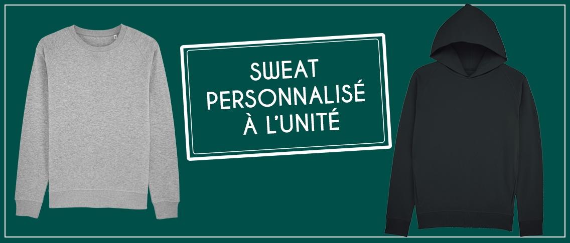 Sweat personnalisé à l'unité - Atelier du quai