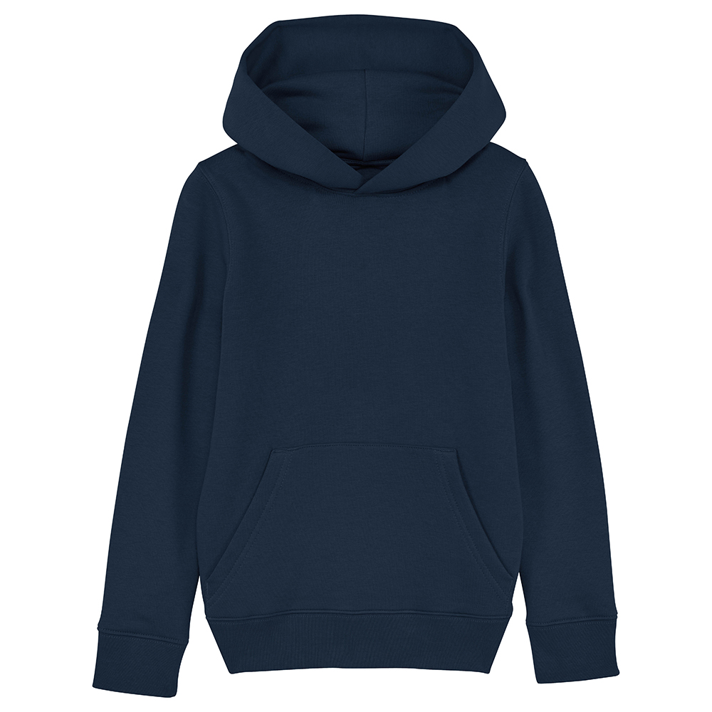 Sweat enfant personnalisable - Sweat capuche bleu marine - Atelier du Quai