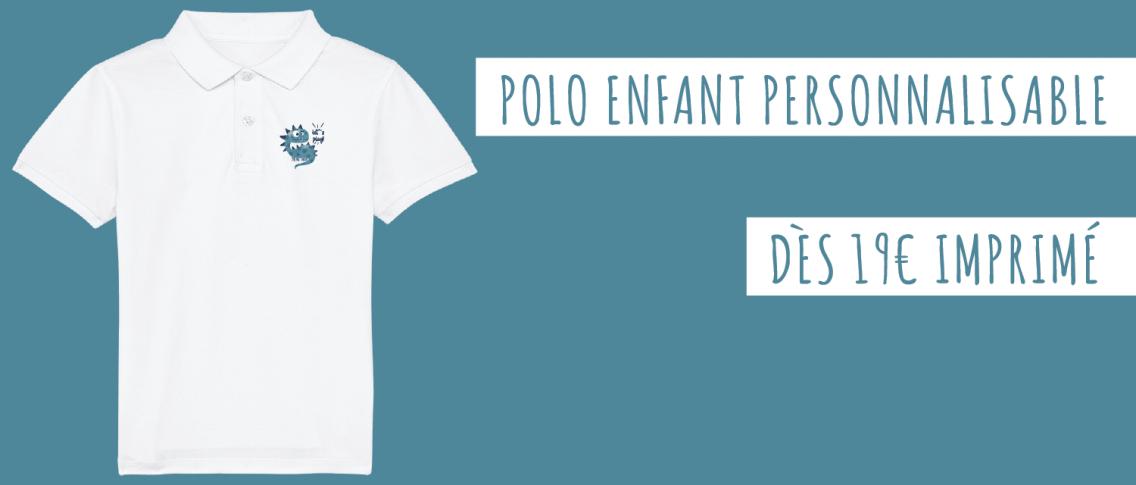 Polo Personnalisé Enfant