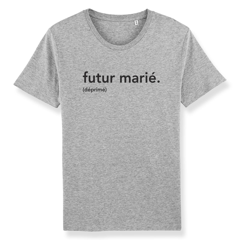 T-shirts enterrement de vie de garçon - futur marié - Atelier du Quai
