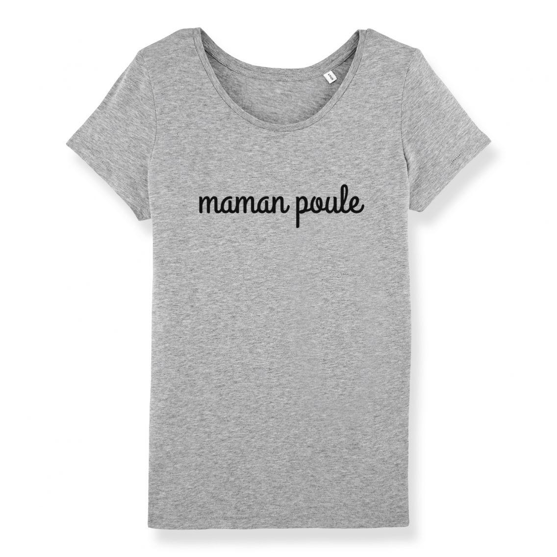 T-shirt maman poule - Atelier du Quai