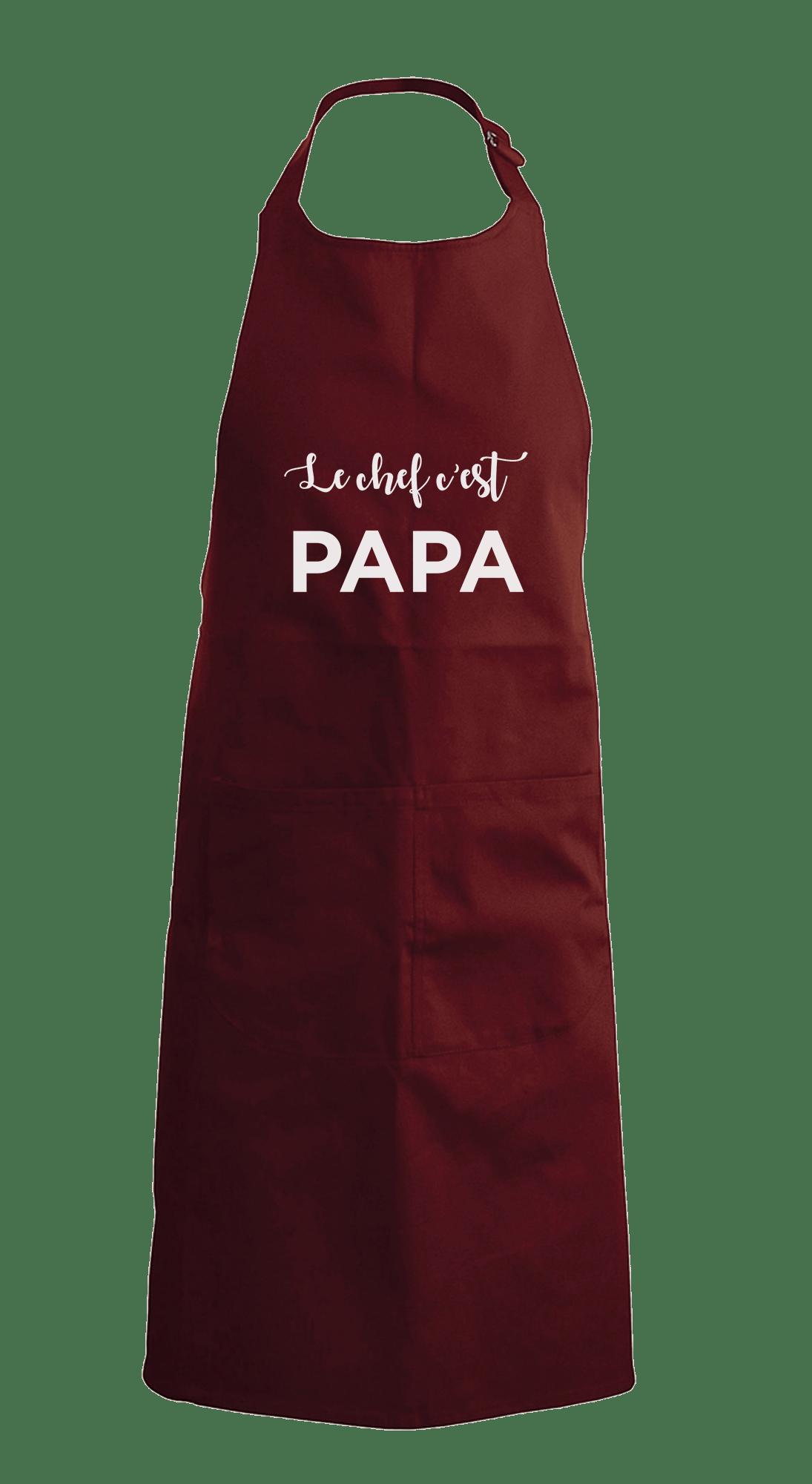 Tablier personnalisé fête des pères - Atelier du Quai