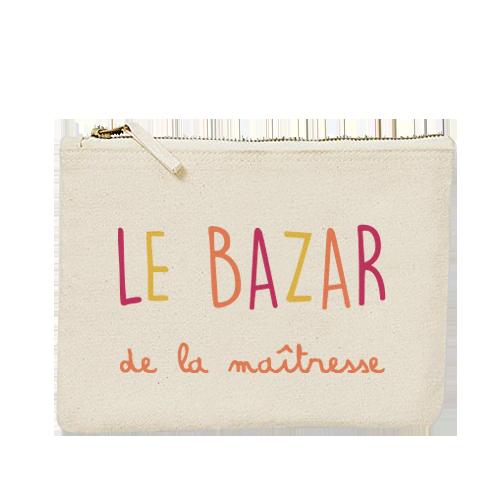 Pochette le bazar de la maitresse - Atelier du Quai