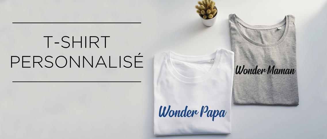 T-shirt personnalisé pas cher - Atelier du Quai