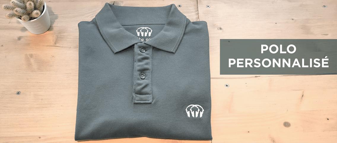 Polo personnalisable - Atelier du Quai