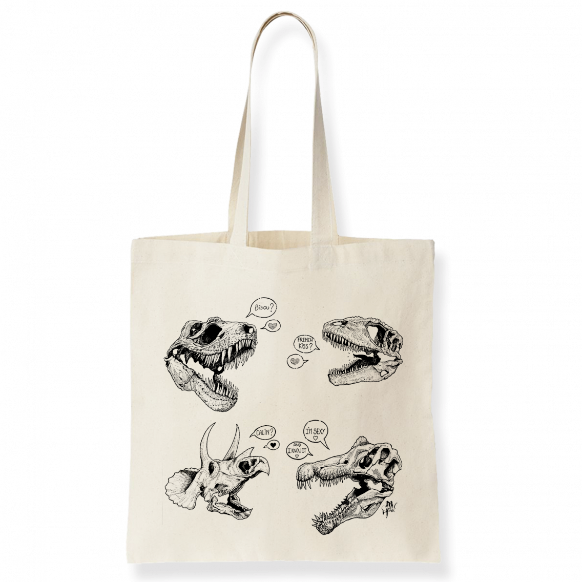 Mad'hands tote bag - Atelier du Quai
