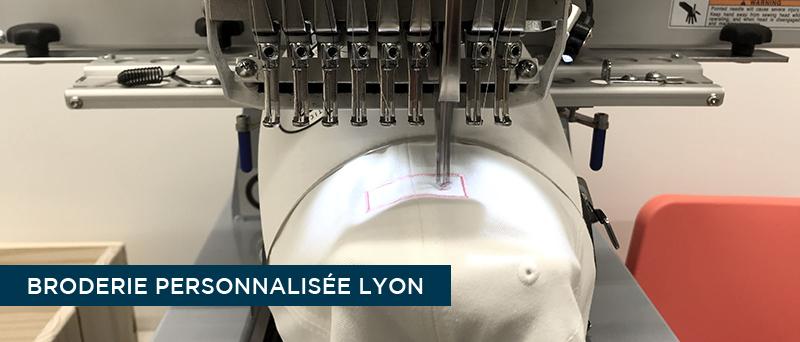 Broderie personnalisée Lyon - Atelier du Quai