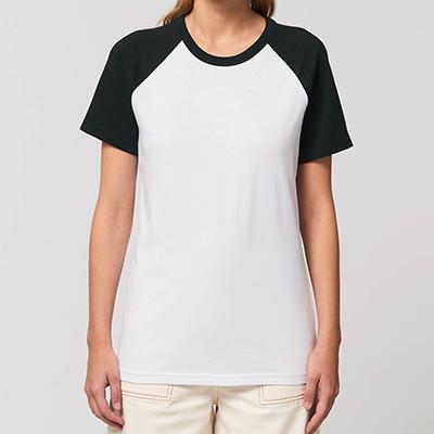 T-shirt personnalisé Femme - T-shirt baseball - Atelier du Quai