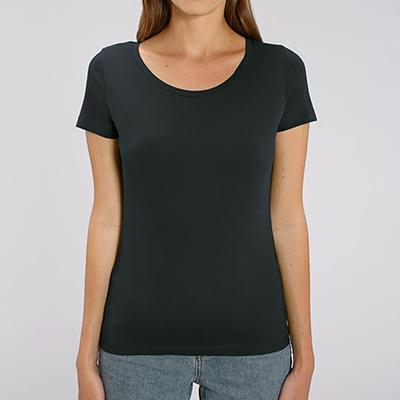 T-shirt personnalisé Femme - T-shirt premium col rond - Atelier du Quai