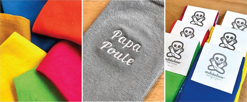 Chaussettes personnalisées Lyon - Atelier du Quai